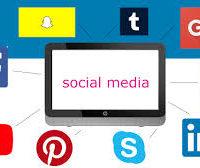 How do WE market our business using Social Media?